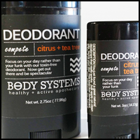 Citrus + Tea Tree Deodorant